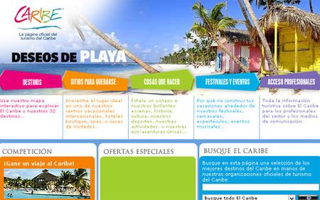 Nueva web de turismo del Caribe
