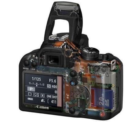 Canon soluciona los problemas de la 1000D