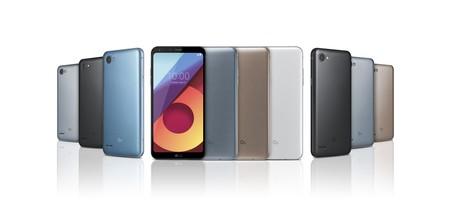 """Nueva familia LG Q6: el diseño de gran pantalla """"sin marcos"""" del G6 llega a la gama media"""