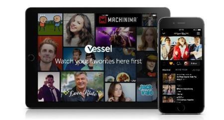 Llega Vessel: vídeos exclusivos de estrellas de YouTube por una mensualidad mínima