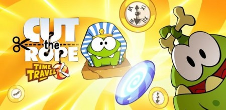 Cut the Rope: Time Travel, lo nuevo de ZeptoLab ya disponible en Google Play