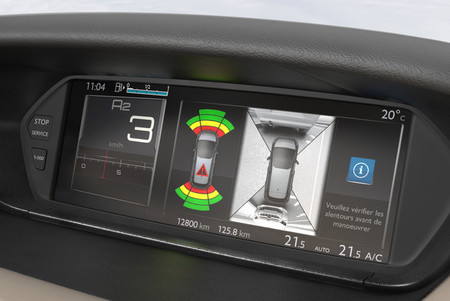 Citroën C4 Picasso 2013, visión 360