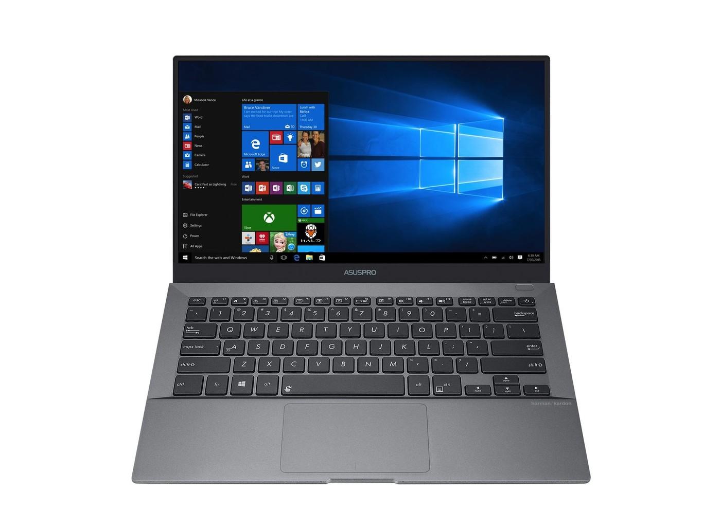 ASUS sorprende a Lenovo con un portátil de 14 pulgadas más ligero que su ThinkPad Carbon