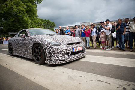 Nissan Gt R Nismo Time Attack Edition At Goodwood 2014