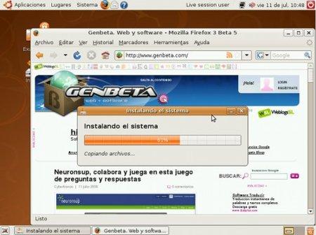 Instalación de Ubuntu 8.04