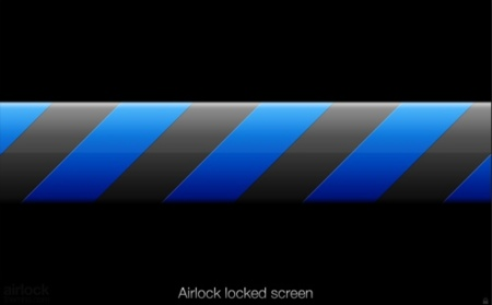 Pantalla de bloqueo de Airlock