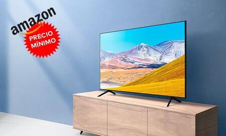 Amazon tiene a precio mínimo la Samsung Crystal UHD 2020 50TU8005: 50 pulgadas 4K por 399 euros