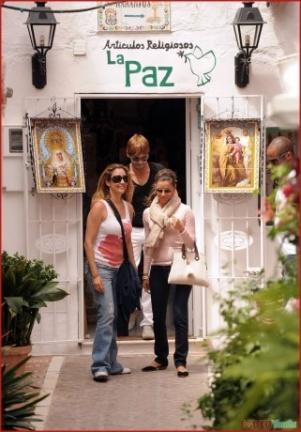 Eva Longoria aterriza en Marbella