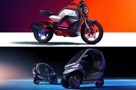 NIU lanzará una moto eléctrica de 40 CV y un scooter eléctrico de tres ruedas a mediados de 2020