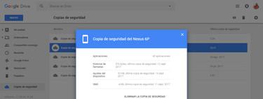 La copia de seguridad de tu Android se borra si no lo usas, te contamos cómo ver la fecha de caducidad