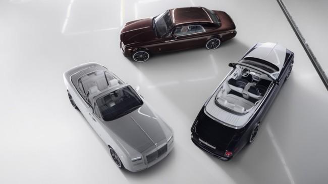 """Rolls-Royce Phantom Zenith Collection: La definición perfecta de """"cerrar con broche de oro"""""""