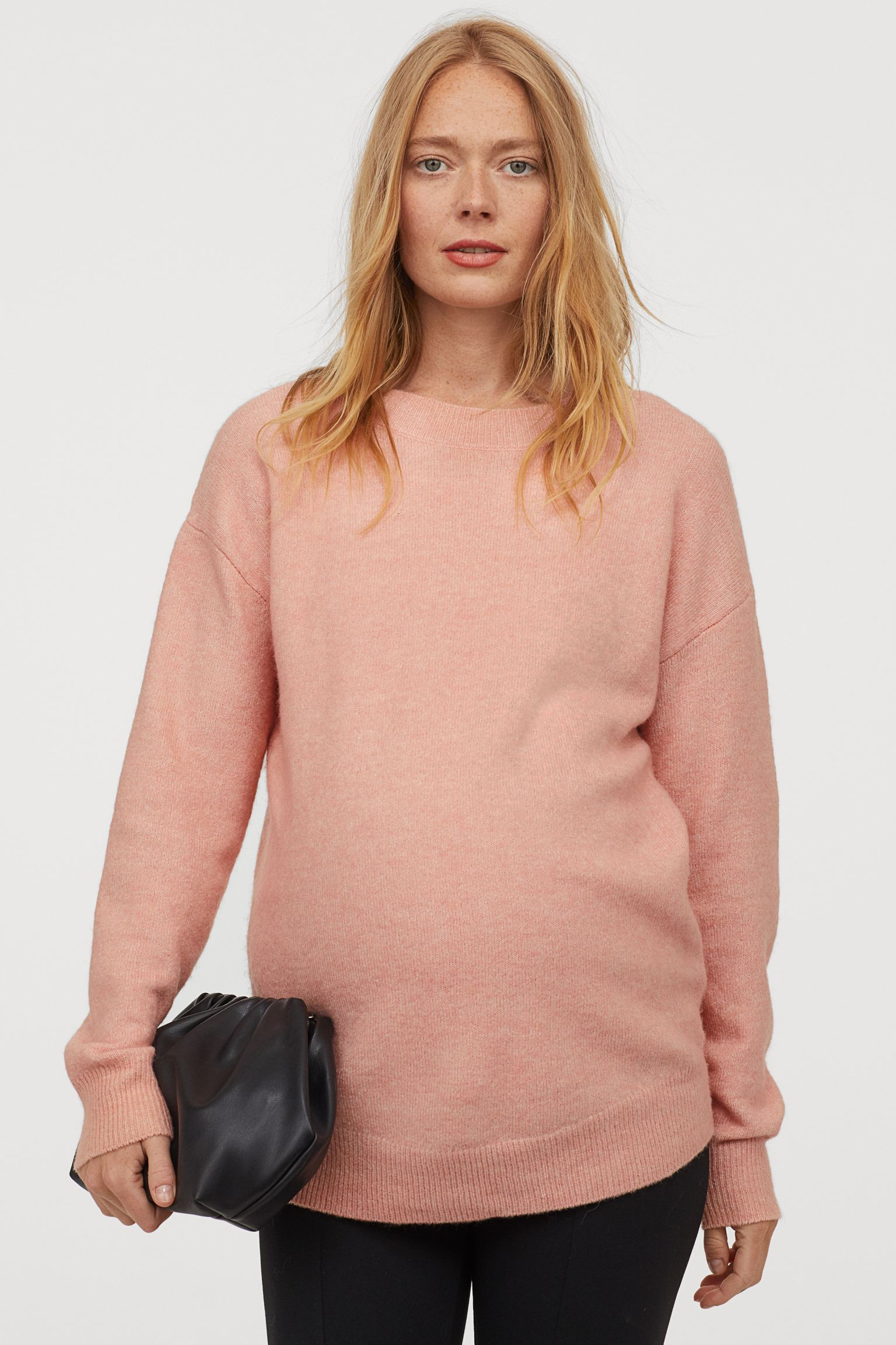 Jersey rosa de punto fino
