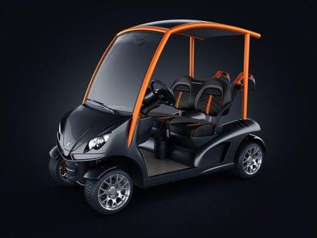 Launching del nuevo coche de golf Garia Mansory Edition en el Salón del Automóvil de Frankfurt