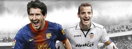 Soldado se alía con Messi para la portada española de 'FIFA 13'