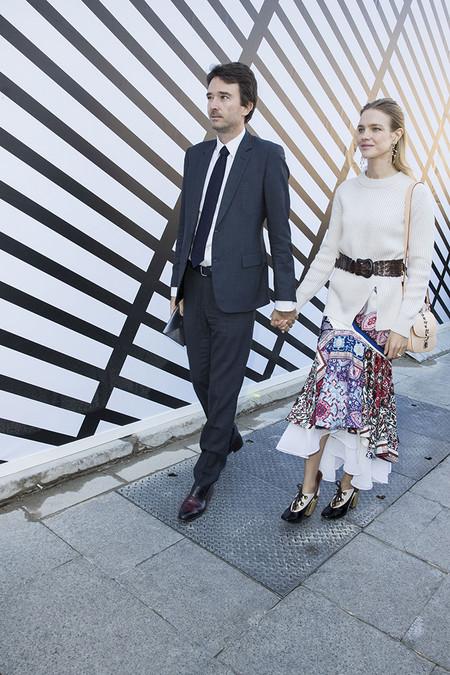 Antoine Arnault y Natalia Vodianova