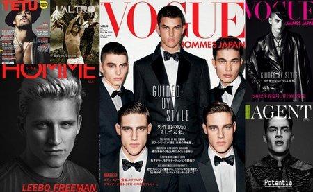 Abrimos el kiosko de Primavera 2012 repasando las mejores portadas de moda y estilo masculino (II)