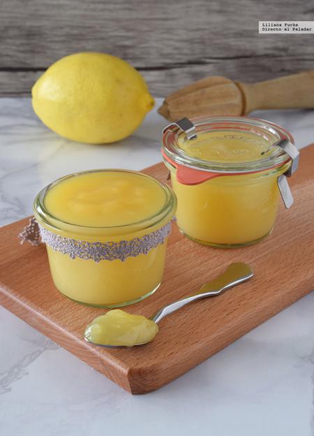Cómo hacer lemon curd bajo en grasas. Receta para regalar en Navidad