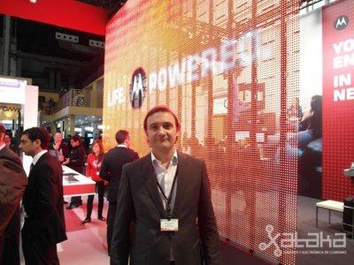 'El que apostemos por Android no implica que cerremos la puerta a desarrollos propios', Entrevista a Marcos Larroy, Director de Marketing de Motorola España