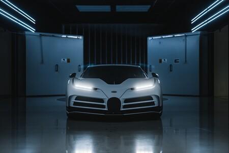 Bugatti Centodieci Tunel De Viento 1