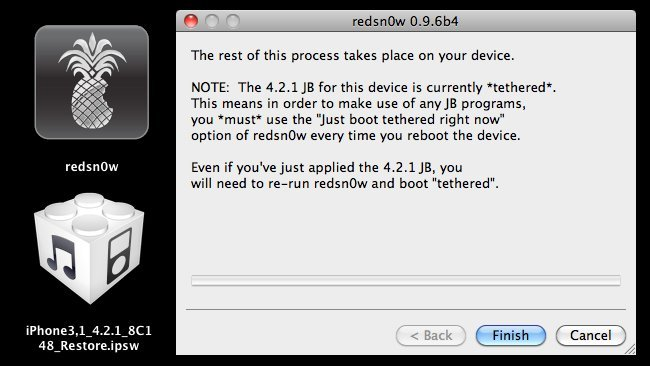 Redsn0w jailbreak ios 4.2 4.2.1 4.2.x iphone