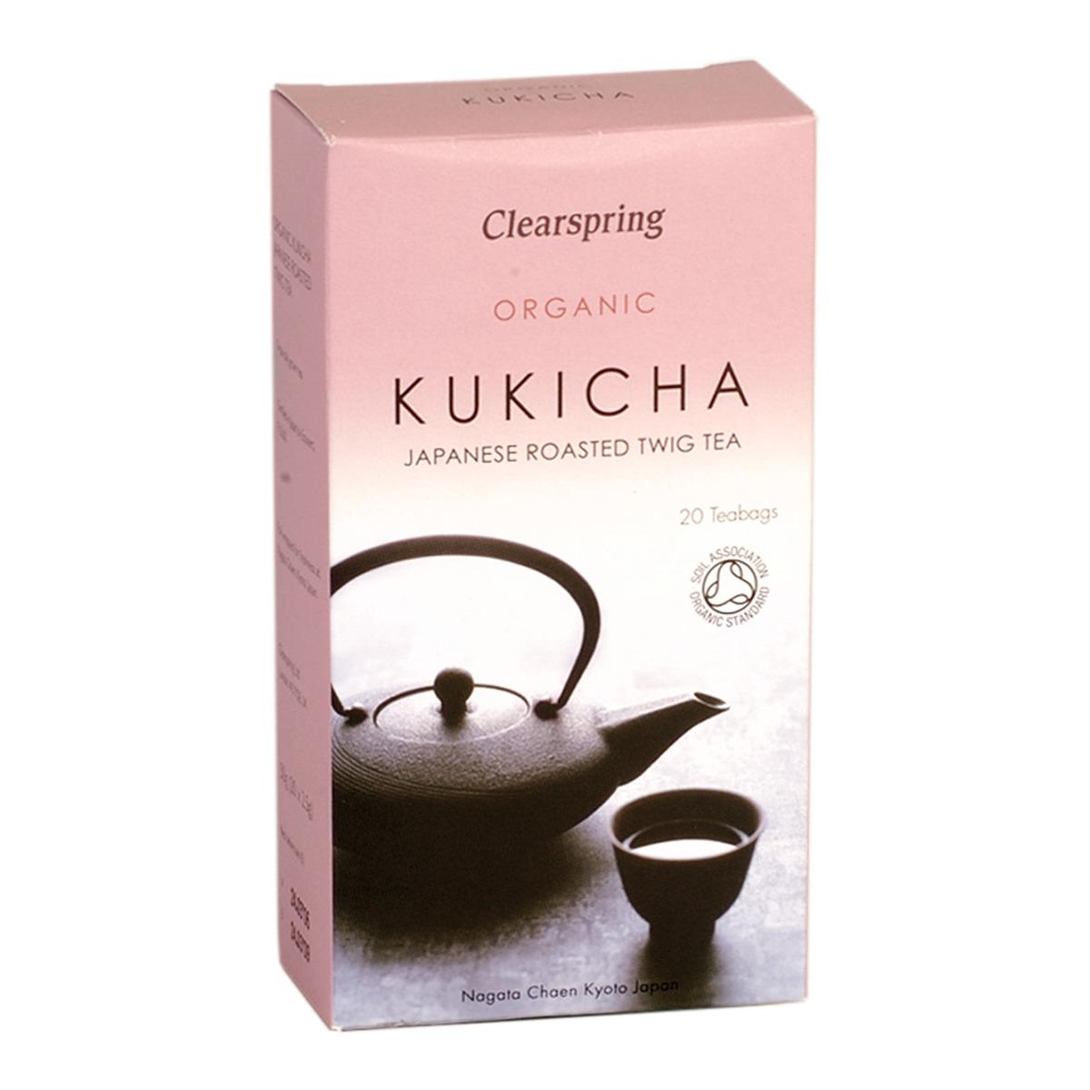 Té japonés Kukicha ecológico Clearspring