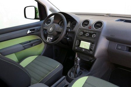 Volkswagen Cross Caddy, vista del interior