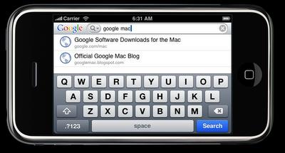 Google Mobile App: La primera aplicación nativa de Google para iPhone / iPod touch