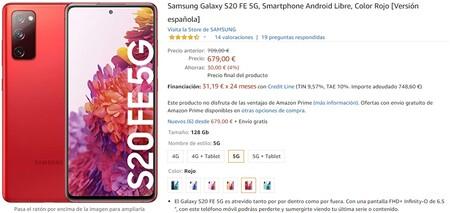 Galaxy S20 Fe 5g Oferta