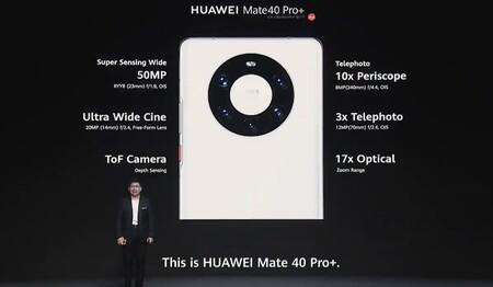 Huawei Mate 40 Pro Plus Oficial Camaras