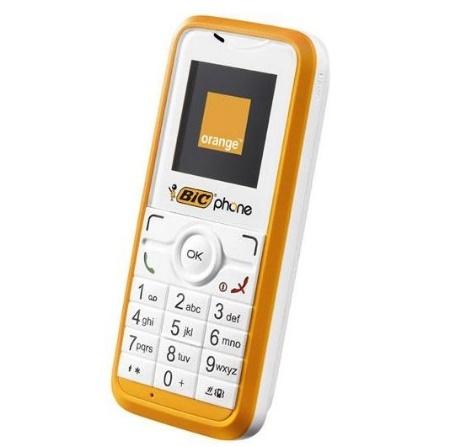 BIC Phone llega a España de la mano de Orange
