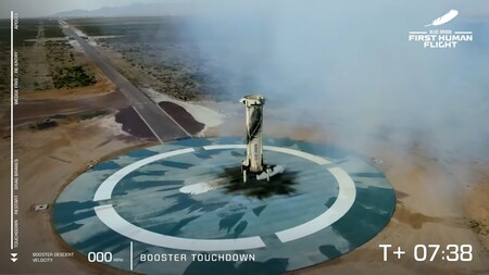 Blue Origin Mision Ns 16 New Shepard Vuelo Jeff Bezos Espacio 4