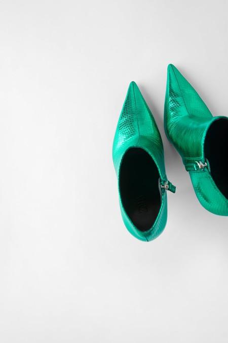 Zara Blue Collection Botines