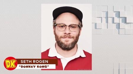Nueva Pelicula Mario Personajes Voz Seth Rogen Donkey Kong