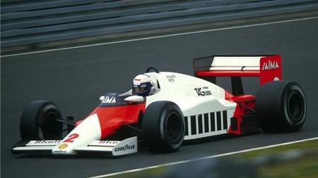 Prost Mclaren Porsche 1984