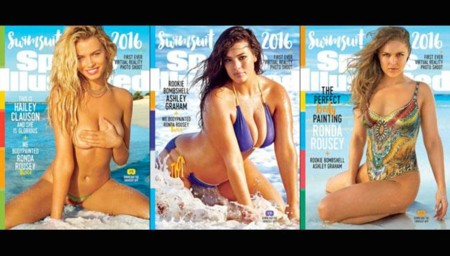 Three Covers Sports Illustrated Swimsuit 2016