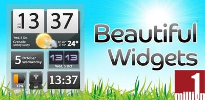 Beautiful Widgets, la primera aplicación de pago en superar el millón de descargas en el Android Market