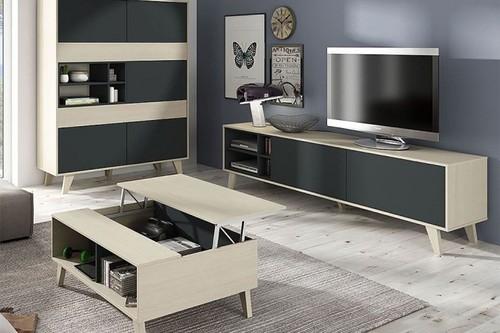 7 muebles de TV para nuestro salón en eBay, con envío gratis, por menos de 140 euros