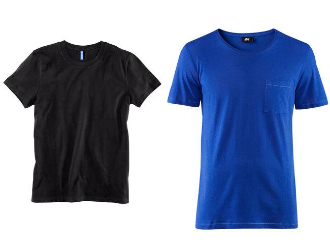 Camisetas básicas de H&M