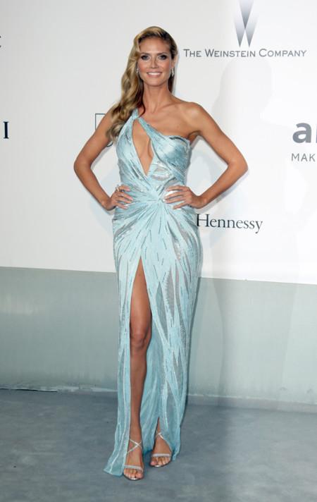 Heidi Klum amfar Cannes 2014