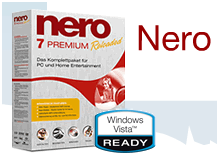 Nero 7.7.5.1. soluciona los problemas con Windows Vista