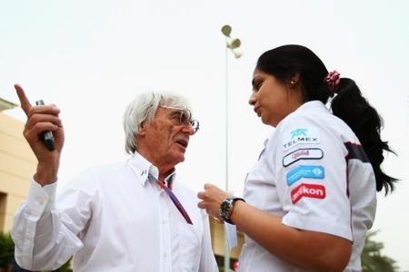 """Bernie Ecclestone: """"¿Y por qué no me puede sustituir una mujer"""""""