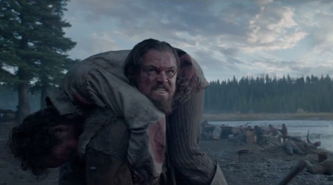 Leonardo DiCaprio en The Revenant