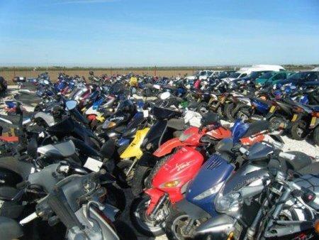 motos abandonadas