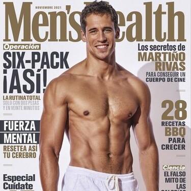 Martiño Rivas en la portada de 'Men's Health' que ha calentado a toda España: sus confesiones sexuales sobre 'El Internado' y el ghosting de Ana de Armas