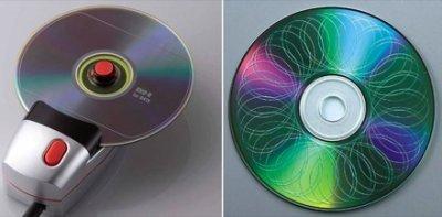 Máquina para destruir CDs por unos 30 dólares