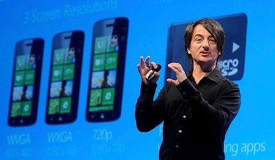 Joe Belfiore confirma que sí habrá una nueva actualización para Windows Phone 7.8