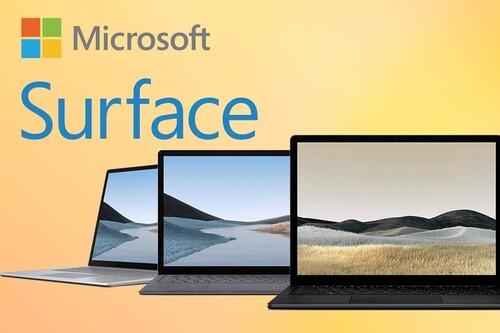Ofertas en portátiles de la gama Surface de Microsoft: ahorra hasta 400 euros con estos precios en Amazon