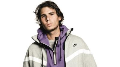 Nadal, elegido para presenta la nueva Hoodie AW77