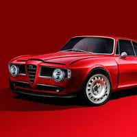 Este Emilia GT Veloce devuelve a la vida al clásico Giulia GTV: con 510 CV ha nacido para el puro disfrute