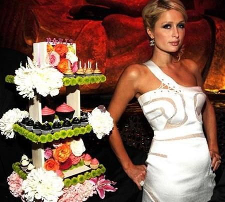 Paris Hilton celebra su cumpleaños en Las Vegas